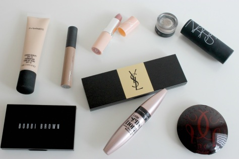 Recent makeup essentials edit