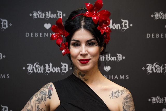 Kat Von D Is Dropping Her First-Ever VEGAN Makeup Brushes