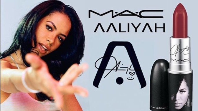 A M.A.C. x Aaliyah Collection Is Coming