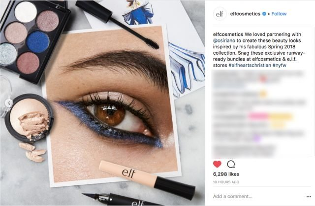 E.L.F. Cosmetics launches runway beauty bundles for fashion week
