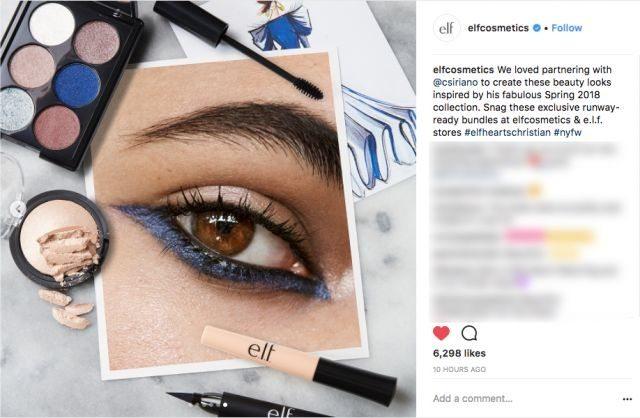 E.L.F. Cosmetics launches runway beauty bundles for fashion week