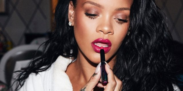 Rihanna responded to a popular makeup brand that seemed to throw shade at Fenty Beauty