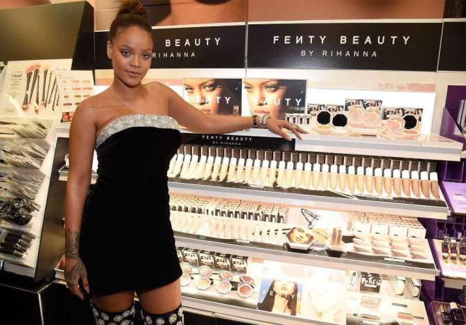 Rihanna's new makeup line has industry scrambling