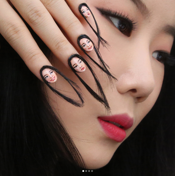 Hair Nails Are The Nail Art Trend You Never Knew You Needed To See