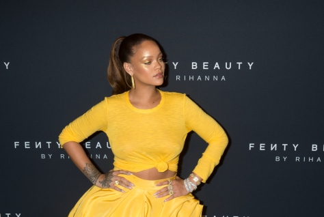 ENTERTAINMENT-FASHION-RIHANNA-BEAUTY BRAND