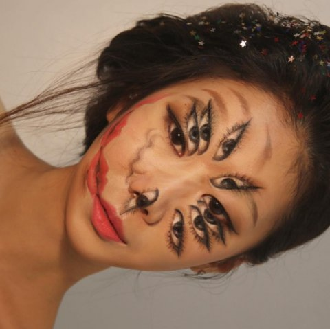 Artist Creates Incredible Illusions Using Makeup. An Instagram Sensation
